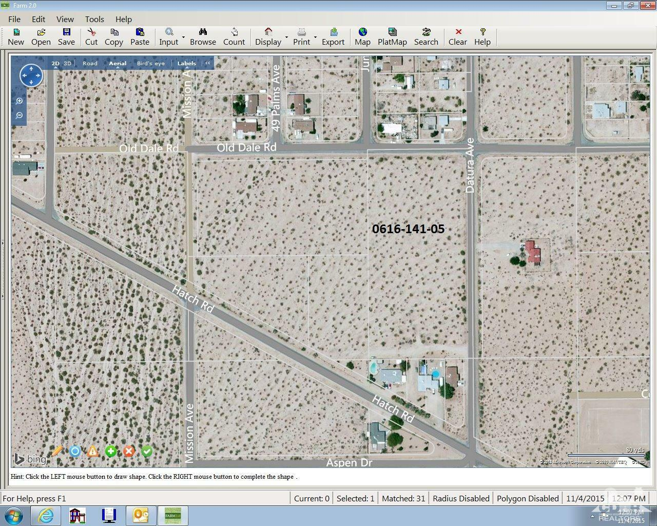 0 Old Dale And Datura Road, 29 Palms, CA - USA (photo 1)