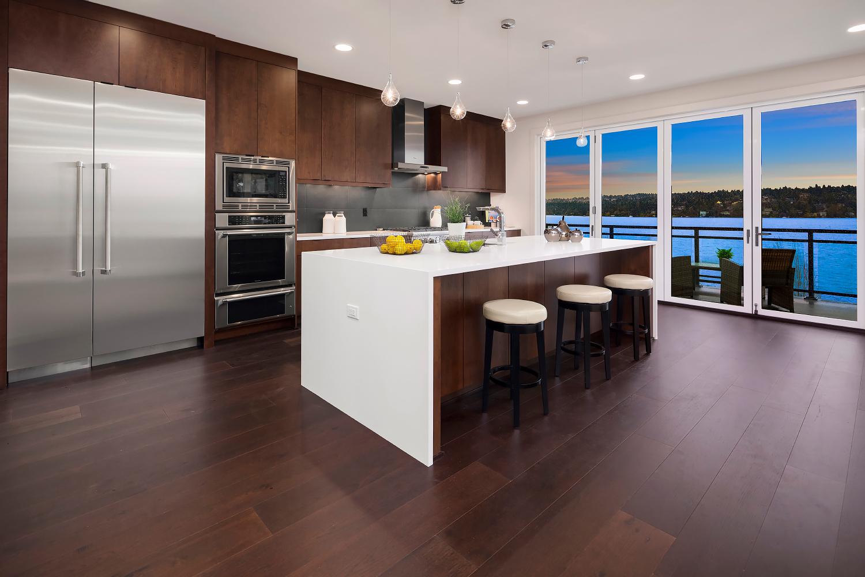 Kitchen & Family Room (photo 2)
