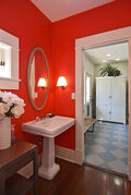 Half Bath & Mudroom