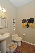 Mud room & half bath